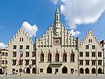 Deutschland, Bayern, Niederbayern, Landshut: Rathaus in der Altstadt | Germany, Bavaria, Lower Bavaria, Landshut: cityhall at Old Town