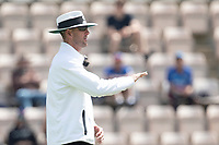 Michael Gough, Umpire signals four runs during India vs New Zealand, ICC World Test Championship Final Cricket at The Hampshire Bowl on 23rd June 2021