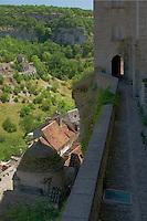 Vue sur les ancienne fortification et le canion