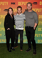 "LOS ANGELES, CA - NOVEMBER 18: Yara Martinez, Stephen Dorff, and Brian Van Holt attend the advanced screening for Fox's ""Deputy"" at James Blakeley Theater on the Fox Studio Lot on November 18, 2019 in Los Angeles, California. on November 13, 2019 in Los Angeles, California. (Photo by Frank Micelotta/Fox/PictureGroup)"