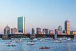 Boats on the Charles River, Boston, Massachusetts, USA