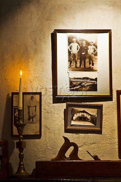Baserri Maitea Restaurant. Forua. Urdaibai Region. [Urdaibai biosphere reserve]. Bizkaia. Basque Country. Spain.