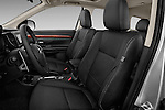 Front seat view of a 2014 Mitsubishi Outlander Instyle 5 Door SUV front seat car photos