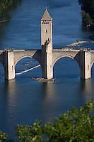 Europe/France/Midi-Pyrénées/46/Lot/Cahors:La vallée du Lot et le Pont Valentré