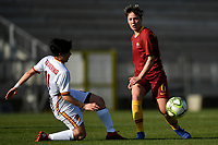 Federica Polverino of Roma CF and Federica Di Criscio of AS Roma compete for the ball during the Women Italy cup round of 8 second leg match between AS Roma and Roma Calcio Femminile at stadio delle tre fontane, Roma, February 20, 2019 <br /> Foto Andrea Staccioli / Insidefoto