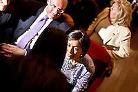CHIETI 24/05/2011 -L'ONOREVOLE MARA CARFAGNA A CHIETI. NELLA FOTO MARA CARFAGNA CON IL SINDACO DI CHIETI UMBERTO DI PRIMIO.  FOTO DI LORETO/INFOPHOTO