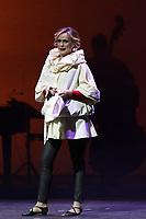 """NAPOLI, ITALIA, 07.12.2018 - SERENA-AUTIERI - <br /> Serena Autieri, atriz e cantora durante o musical """"#LA SCIANTOSA o primeiro influenciador"""", em Nápoles, Itália nesta sexta-feira, 07. (Foto: Salvatore Esposito/Brazil Photo Press)"""