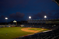 General view of the East Coast Pro Showcase on July 28, 2015 at George M. Steinbrenner Field in Tampa, Florida.  (Mike Janes/Four Seam Images)