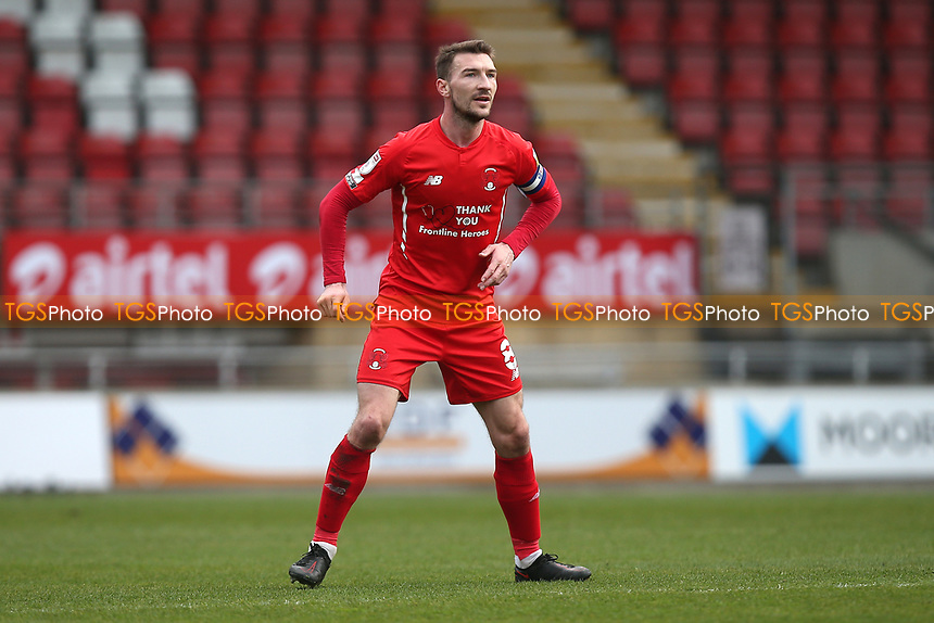 Craig Clay of Leyton Orient during Leyton Orient vs Oldham Athletic, Sky Bet EFL League 2 Football at The Breyer Group Stadium on 27th March 2021