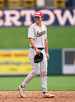 St. Thomas Aquinas Raiders Jimmy Thies (6) during the 42nd Annual FACA All-Star Baseball Classic on June 6, 2021 at Joker Marchant Stadium in Lakeland, Florida.  (Mike Janes/Four Seam Images)