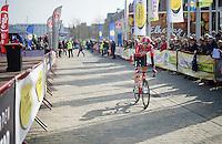 Thomas De Gendt (BEL/Lotto-Soudal) to the start<br /> <br /> 103rd Scheldeprijs 2015