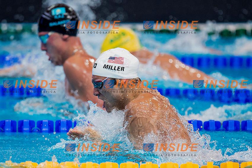 MILLER Cody USA<br /> 100 Breaststroke Men Heats<br /> Swimming - Kazan Arena<br /> Day10 02/08/2015<br /> XVI FINA World Championships Aquatics Swimming<br /> Kazan Tatarstan RUS July 24 - Aug. 9 2015 <br /> Photo A.Masini/Deepbluemedia/Insidefoto