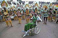 Concentração do carnaval. Rio de Janeiro. 1983. Foto de Juca Martins..