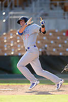 Mesa Solar Sox third baseman Kris Bryant (17), of the Chicago Cubs organization, during an Arizona Fall League game against the Glendale Desert Dogs on October 8, 2013 at Camelback Ranch Stadium in Glendale, Arizona.  The game ended in an 8-8 tie after 11 innings.  (Mike Janes/Four Seam Images)