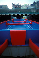 Colorful rowboat<br />