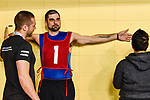 MONTREAL, QC - APRIL 29:  A participant is being measured during the 2017 Montreal Paralympian Search at Complexe sportif Claude-Robillard. Photo: Minas Panagiotakis/Canadian Paralympic Committee