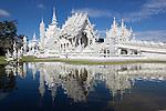 Thailand, Northern Thailand, Chiang Rai: Wat Rong Khun (White Temple) | Thailand, Nordthailand, Chiang Rai: Wat Rong Khun (Weisser Tempel)