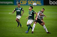 Belo Horizonte (MG) 14/08/21 - Atlético-MG-Palmeiras - Willian durante partida entre Atlético-MG e Palmeiras , válida pela décima  sexta rodada do Campeonato Brasileiro no Estadio Mineirão em Belo Horizonte neste sábado (14)