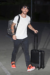Real Madrid´s Sergio Ramos arrives at Soccer City training facility for a Spanish soccer team concentration meeting in Las Rozas, near Madrid, Spain. September  01, 2015. (ALTERPHOTOS/Victor Blanco)