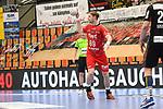 Ludwigshafens Christian Klimek (Nr.69) am Ball beim Spiel in der Handball Bundesliga, Die Eulen Ludwigshafen - Tusem Essen.<br /> <br /> Foto © PIX-Sportfotos *** Foto ist honorarpflichtig! *** Auf Anfrage in hoeherer Qualitaet/Aufloesung. Belegexemplar erbeten. Veroeffentlichung ausschliesslich fuer journalistisch-publizistische Zwecke. For editorial use only.