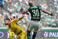 São Paulo (SP), 16/02/2020 - Palmeiras-Mirassol - Felipe Melo. Palmeiras e Mirassol, durante partida válida pela sexta rodada do campeonato paulista 2020, no Allianz Parque, zona oeste da capital, na tarde deste domingo (16).