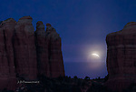 Lunar Eclipse at Cathedral Rock