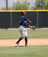 Jesus Lara - Cleveland Indians 2019 extended spring training (Bill Mitchell)