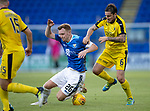 St Johnstone v Falkirk…24.07.18…  McDiarmid Park    Betfred Cup<br />Liam Craig is fouled by Paul Paton<br />Picture by Graeme Hart. <br />Copyright Perthshire Picture Agency<br />Tel: 01738 623350  Mobile: 07990 594431