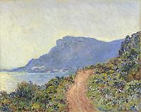 La Corniche bij Monaco, Claude Monet, 1884