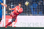 Goalkeeper Vicente Guaita Panadero of Getafe CF in action during the La Liga 2017-18 match between Getafe CF and Valencia CF at Coliseum Alfonso Perez on December 3 2017 in Getafe, Spain. Photo by Diego Gonzalez / Power Sport Images