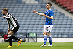 St Mirren v St Johnstone…09.05.21  Scottish Cup Semi-Final Hampden Park <br />Guy Melamed reacts after missing a chance<br />Picture by Graeme Hart.<br />Copyright Perthshire Picture Agency<br />Tel: 01738 623350  Mobile: 07990 594431