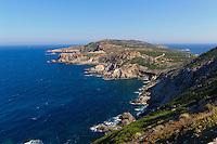 Halbinsel Revellata bei Calvi, Korsika, Frankreich