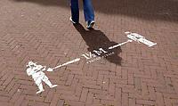Nederland  Amsterdam - 2020.   Keti Koti.   Anderhalvemetersamenleving.   Foto  ANP / Hollandse Hoogte / Berlinda van Dam