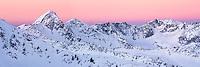 Pfiefferhorn , Big Horn Peak, Thunder Mountain and Lone Peak