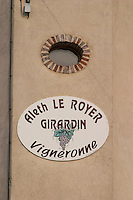 Aleth le Royer Girardin. The village. Pommard, Cote de Beaune, d'Or, Burgundy, France