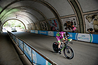Filippo Zana (ITA/Bardiani-CSF-Faizanè)<br /> <br /> 104th Giro d'Italia 2021 (2.UWT)<br /> Stage 1 (ITT) from Turin to Turin (8.6 km)<br /> <br /> ©kramon