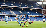 25.07.2020 Rangers v Coventry City: Calvin Bassey on the wing