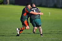 Action from the Auckland presidents club rugby union match between Pakuranga and Mount Wellington Cavaliers at Lloyd Elsmore Park in Auckland, New Zealand on Saturday, 25 July 2020. Photo: Dave Lintott / lintottphoto.co.nz