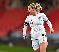 13th April 2021; Bet365 Stadium, Stoke, England; Alex Greenwood of England during the womens International Friendly match between England and Canada