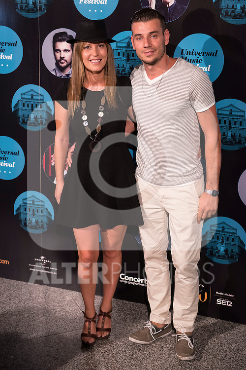 El mundo de Murphy attends the photocall before the concert of spanish singer El Barrio in Royal Theater in Madrid, Spain. July 27, 2015.<br />  (ALTERPHOTOS/BorjaB.Hojas)
