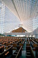 Philip Johnson: Crystal Cathedral--Interior. Photo '80.