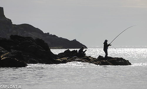 Sea angling is popular from the shoreline and also from small boats