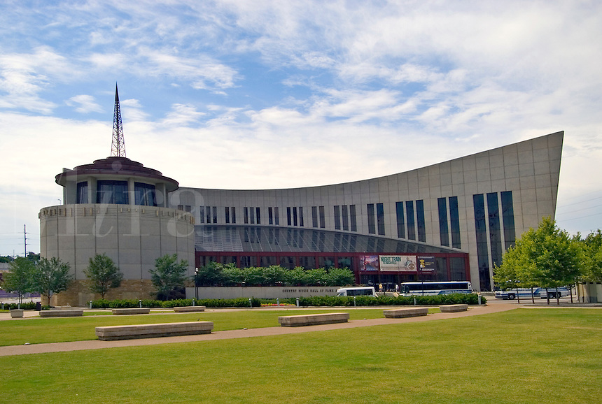 The Country Music Hall of Fame, in downtown Nashville, Tennessee.