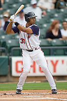 Maysonet, Edwin 0020.jpg. Memphis Redbirds at Round Rock Express in Pacific Coast League Baseball. Dell Diamond on April 26th 2009 in Round Rock, Texas. Photo by Andrew Woolley.