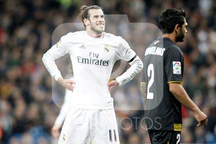 Real Madrid's Gareth Bale during La Liga match. March 20,2016. (ALTERPHOTOS/Acero)