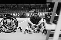 Rotterdam, The Netherlands, 14 Februari 2019, ABNAMRO World Tennis Tournament, Ahoy, Wheelchair, Final, Joachim Gerard (BEL),<br /> Photo: www.tennisimages.com/Henk Koster