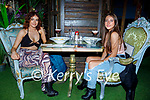 Enjoying the evening in Benners on Friday, l to r: Rebecca O'Sullivan (Ballyseedy) and Erin Norris (Limerick).