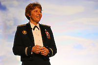 4 April 2008: Guest speaker Brigadier general Michelle D. Johnson during Stanford's 2008 NCAA Division I Women's Basketball Final Four salute dinner at the Tampa Convention Center in Tampa Bay, FL.