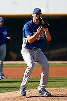 Luke Hochevar   -  Kansas City Royals - 2009 spring training.Photo by:  Bill Mitchell/Four Seam Images