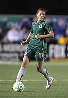 Angie Woznuk..Saint Louis Athletica were defeated 1-0 by Chicago Red Stars in which was both teams inaugural game, played at Korte Stadium, Edwardsville, Illinois  on April 4, 2009.